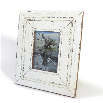 Frame Rw Rustic White Wide 5x7 12x14 Quot Stand